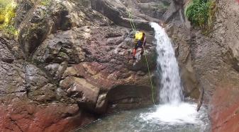 Barranquismo en Pirineos - Barranco de Liri